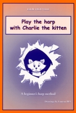 Play the harp with Charlie the kitten